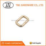 金属線の袋のための形作られた鉄の長方形のリングのバックル