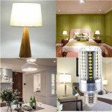 La luz E27 15W del maíz del LED refresca la lámpara de plata blanca del bulbo de la carrocería LED del color