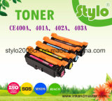Cartucho de toner del color de Ce400A/401A/402A/403A para la impresora de M375nw/M451dw/M475dn/M451nw/M451dn