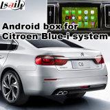 Caixa Android da navegação do GPS para a relação do vídeo de Citroen C6