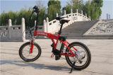 '' bici elettrica di mini piegatura portatile 20