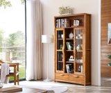 Qualitäts-Hauptmöbel-Glastür-hölzernes Bücherregal