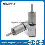 Motor de engranaje de CC de baja velocidad de 12mm 3.0V con caja de engranajes