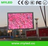 Het volledige LEIDENE van de Kleur P10 VideoScherm die OpenluchtAanplakbord adverteren