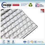 Matériau d'isolation ignifuge de résistance thermique de bulle de papier d'aluminium de classe