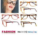 Blocchi per grafici popolari Handmade degli occhiali di vetro ottici di Eyewear dell'acetato