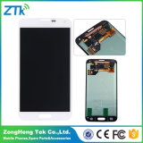 出荷する前の1によるSamsungギャラクシーS5タッチ画面テスト1のための置換LCDの表示