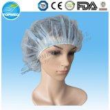 Nichtgewebte Pöbel-Wegwerfschutzkappe/Klipp-Schutzkappe/Haarnetz/chirurgische Schutzkappe