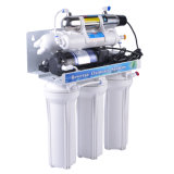 7 Étape 50gpd du filtre à eau osmose inverse avec la lumière UV