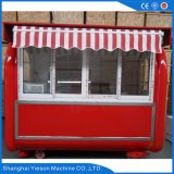Ys-Bf230g Fenêtre coulissante en verre Carosserie mobile Carts Kiosque à restauration rapide