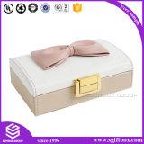 صنع وفقا لطلب الزّبون رف [هندمد] يعبّئ مجوهرات جلد صندوق