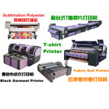 Impresora de inyección de tinta digital para impresión textil