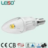 Eindeutige Kerze-Lampe des CREE 4W Chip-E14 Scob LED (LS-B304-CWWD/CWD)