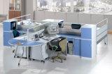 Самомоднейшая рабочая станция Mudular офисной мебели с стеклянной перегородкой