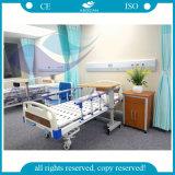 Cama de hospital médica manual del paciente de base de las manivelas de AG-BMS101A 2