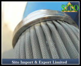 ステンレス鋼の金網のフィルター素子のこし器