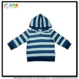 Stripe Printing Baby Clothes Gots Kids Jacket