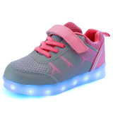 Modos 7colors 11 Modificando os sapatos Kids LED com carregador USB