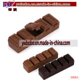 Set de papelaria Chocolate Sharpener School Supplies Promotion (G8062)