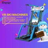 Cine caliente de la máquina del esquí de la venta 9d Vr, simulador del esquí de la realidad virtual en parque de atracciones