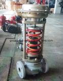 Válvula de regulamento operada auto da pressão (GAZZYP)