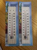 Tester di legno del termometro