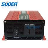 LCD 디스플레이 (SDB-D2000A)를 가진 격자 힘 변환장치 떨어져 Suoer 2kw 12V 220V 지적인 태양