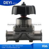 Válvula de diafragma Two-Pass sanitária do aço inoxidável (DY-V072)