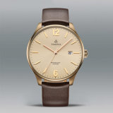 Mensen Van uitstekende kwaliteit 72692 van het Horloge van het Merk van het Embleem van de Douane van de Horloges van de Ontwerper van de manier Eigen