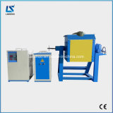 Tipo de inclinação energy-saving fornalha de derretimento portátil da indução do ouro