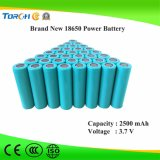 China Manufaturer 2500mAh 18650 3.7V Li-Ion 18650 van de Batterij Batterij
