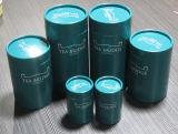 Scatola di personalizzata lusso il tè della scatola di di carta/tubo il tè di disegno/contenitore di tubo