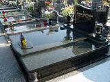 Progettare le pietre tombali per il cliente europee della lapide del granito di stile