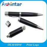 금속 펜 USB 기억 장치 섬광 사업 펜 모양 전화 USB 지팡이