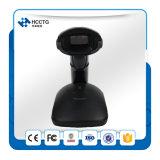 Scanner sans fil de code barres de laser de Bluetooth 1d 2D d'encre en poudre d'endroit avec la base (HS5130)
