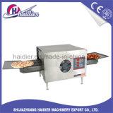 Cinta transportadora comercial pizza horno de gas de panadería/horno eléctrico