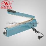 Máquina da selagem de impulso da imprensa da mão para a embalagem da pastelaria da farinha de arroz com cortador