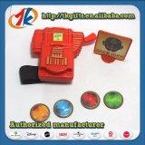 De promotie Schutter van de Schijf van het Punt met het Stuk speelgoed van het Spel van de Jonge geitjes van de Band van de Pols
