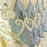 Dekorativer Chenille-Stickerei-Stromausfall-Fenster-Vorhang (20W0002)