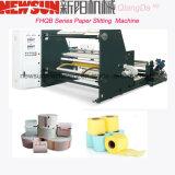 Etiqueta de papel de la máquina de corte de material rodante