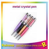 La promotion de luxe Crystal Logo personnalisé stylo usb stylo à bille de métal pour les entreprises