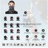 Bandana multifunzionale promozionale Headwear della stampa di sublimazione di Microfiber