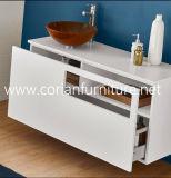 Corian superficie sólida tocador de baño con el lavabo de Corian