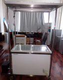 Congelador psto solar personalizado do refrigerador 12/24V para o gelado do transporte