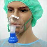 Hospital-Uso del nebulizador con la máscara