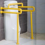 Parete alle barre di sicurezza di nylon della stanza da bagno dell'ABS fisso per l'orinale