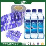 Étiquette de chemise de rétrécissement de PVC pour la bouteille d'eau minérale