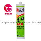 Adhesivo de vidrio acético químico material de construcción sellador de silicona (hx-168)