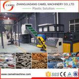 Chameau déchiqueteuse de la machine et machine à système de concasseurs de blocs en plastique