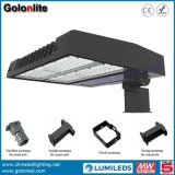 Illuminazione esterna dell'indicatore luminoso 150W LED Shoebox di zona di illuminazione del parcheggio della cellula fotoelettrica LED del sensore di luce del giorno